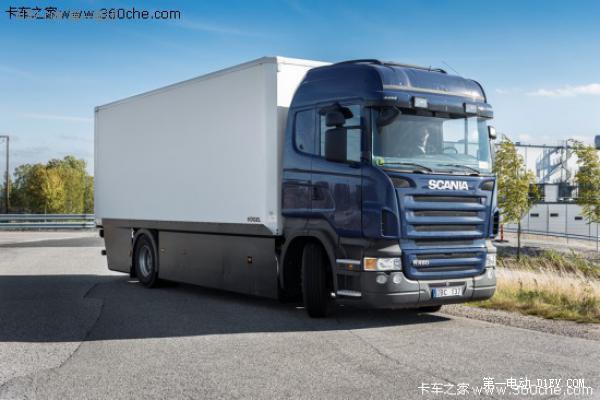 首台斯堪尼亚电动卡车有望2015年推出