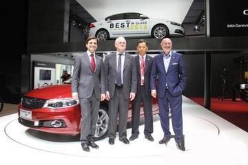 日内瓦车展新能源车成亮点 中国观致走进欧洲