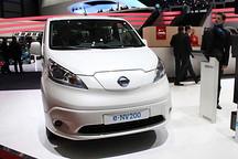 续航里程170km 日产e-NV200车型正式亮相
