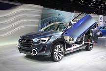搭载混动系统 斯巴鲁Viziv-2概念车亮相