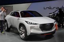 配电池燃料动力 现代Intrado概念车亮相
