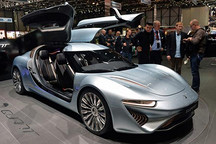 Quant e-Sportlimousine 超强性能的电动汽车