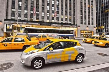 费用高/充电难 电动出租车纽约上路难