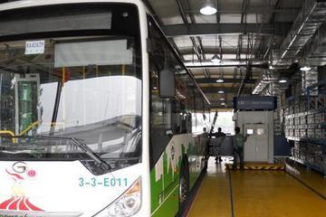 上海电巴新能源生产研发基地正式投产