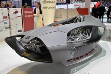 3D打印汽车或10年内问世 使用热塑和碳纤维材料