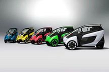 丰田i-road电动三轮概念车启动试驾