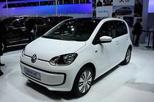 大众e-up!电动车今年下半年引入中国市场