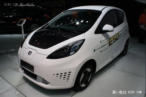 荣威e50电动汽车