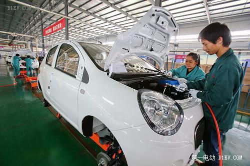 浙江金华:新能源汽车