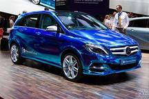 奔驰B级电动车开始投产 同特斯拉联合开发
