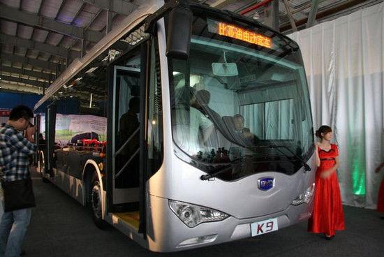 股比49:51 广汽比亚迪合资造新能源客车