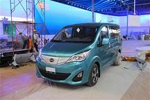 2014北京车展探馆 比亚迪M3混动车型曝光