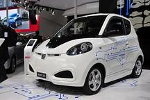 众泰E20电动车北京车展正式发布