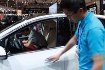 2014北京车展现场直击腾势电动车
