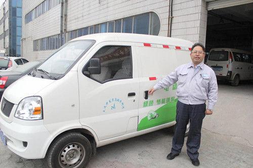 大连鹏迪:快递新能源车创领者