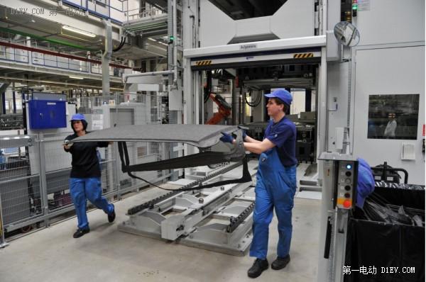 宝马i8工厂