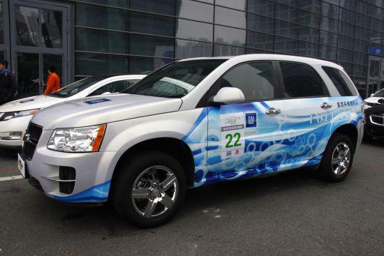 雪佛兰Equinox燃料电池车