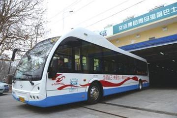 青岛电动公交行驶突破4000万公里 每年减排3.6万吨