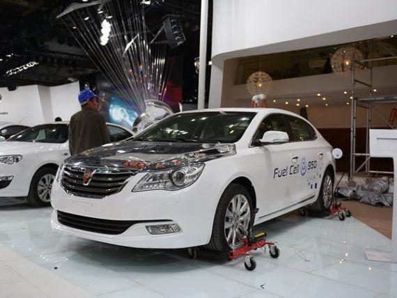 上汽插电式氢燃料电池轿车