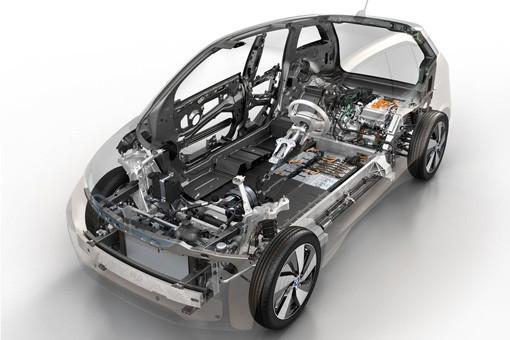 宝马i3电动汽车使用碳纤维车身