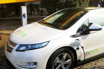 上海国际汽车城年内计划推动400辆电动汽车租赁
