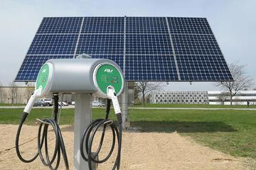 太阳能电动汽车充电站离网运行可行吗?