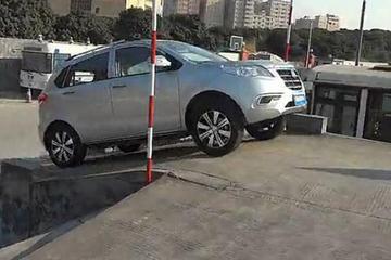 陆地方舟锂电版V5纯电动汽车动能试验