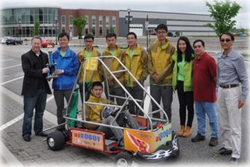 波士顿电池助中、美大学在国际电动车大赛获奖