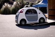 """美国群众(包括盲人)""""试驾""""谷歌无人驾驶汽车"""