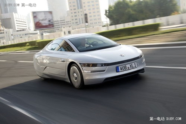 大众XL1插电式混合动力车型
