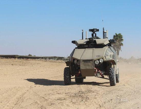 比民用发展更快 以色列无人战车将升级