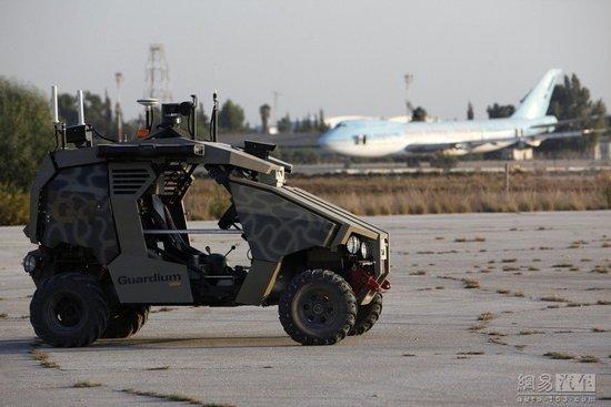 以色列无人战车