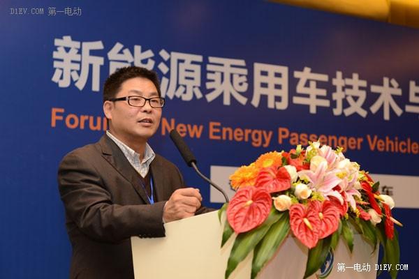 奇瑞新能源总经理刘心文