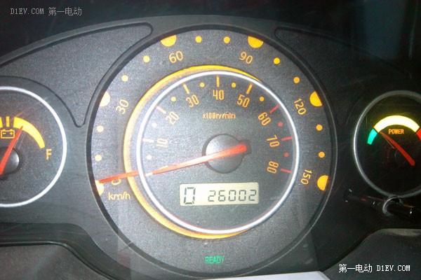 李龙飞驾驶江淮iEV3已经超过26000公里