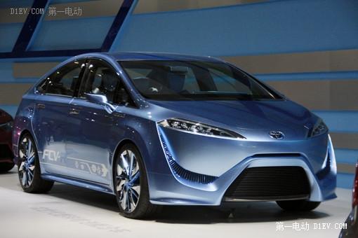丰田燃料电池车