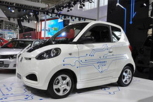 不受限牌影响 知豆新款电动汽车杭州开启销售