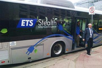 """比亚迪纯电动大巴""""安静""""登陆加拿大埃德蒙顿市 与ETS联合开展试运行"""