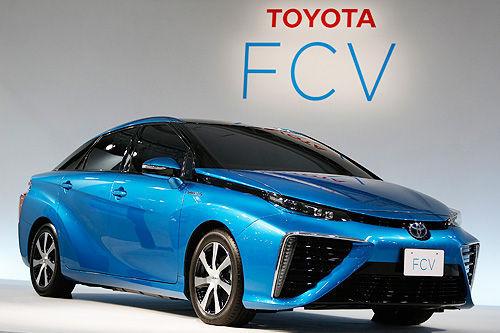 丰田氢燃料电池车FCV