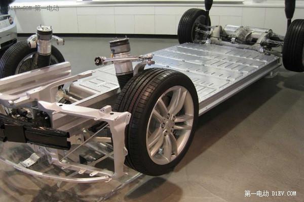 特斯拉Model S电动车底盘