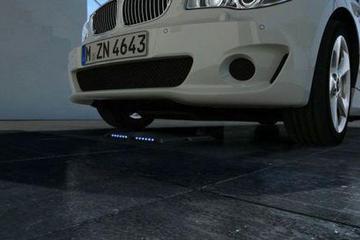 宝马研发无线感应充电系统 只需将车停在指定区域就能充电
