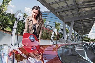 日产聆风提供免费充电服务 计划安装500部快速充电机