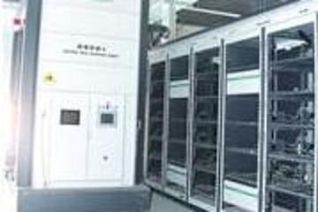 全国首条换电模式城际电动公交线青岛莱西开通