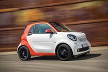 新款Smart未来将推电动版与敞篷版