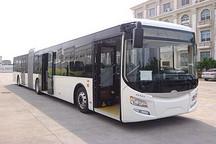 装载北京佩特来电驱动系统的18米纯电动客车出口德国