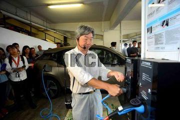 香港100个公共电动汽车中速充电器8月投入服务
