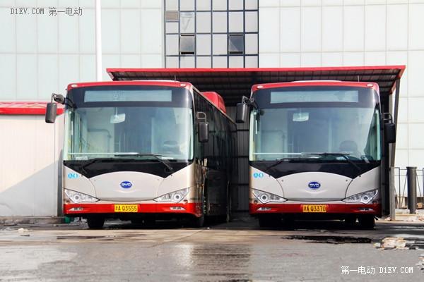 比亚迪纯电动客车k9