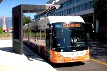 电动巴士的另类充电思路:TOSA 巴士系统15秒快充