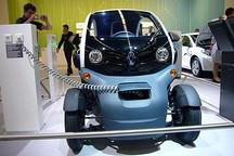 雷诺Twizy电动车货车版 行李箱180升