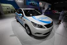 2014款长安逸动混动版亮相广州车展 年底上市