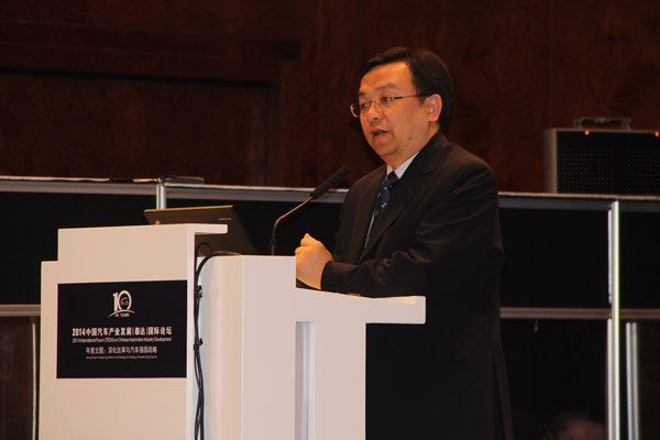 比亚迪股份有限公司董事长兼总裁 王传福